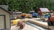 The little engines at Crovan's Gate Yards