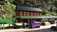 Culdee at the Kirk Machan Station