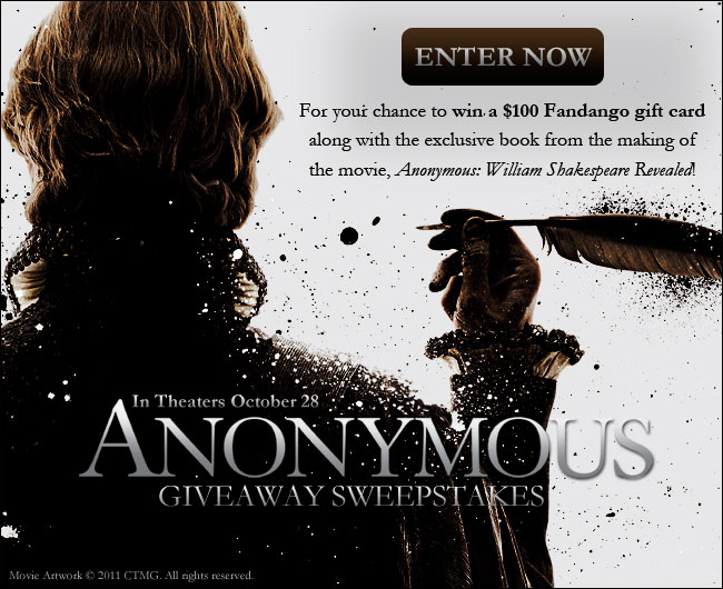 AnonymousGiveaway