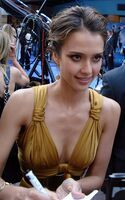 Jessica Alba at Fantastic Four- Rise London Premiere