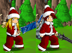 Santa Outfit and Hat (male)