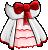 EBF4 Arm White Mage Dress
