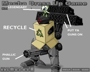 Mecha Dress Up Game Medals