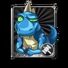 Blue Dino Card