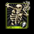 Flame-Eye Skeleton Card
