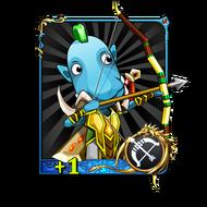 Hunter+1 (R) Card
