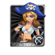 Female Pirate Card