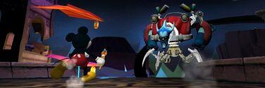 Mickey vs Beetleworx