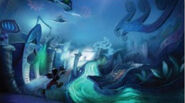 Epic mickey thinner stream concept art