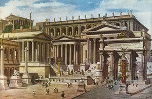 Roman Forum Based On