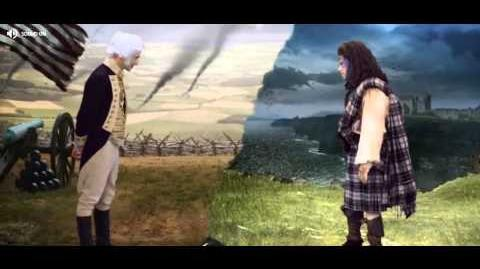 George Washington vs William Wallace fight AD