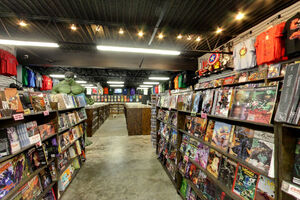 Comic Book Store Based On