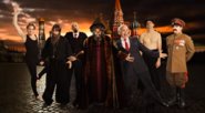 Ivan the Terrible with Russian Leaders