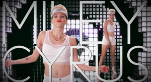 Miley Cyrus Title Card