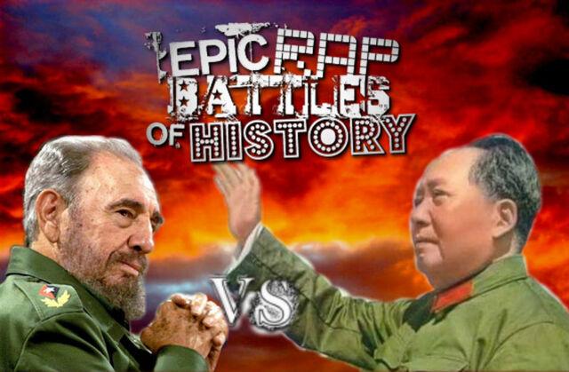 File:Fidel Castro vs Mao Zedong.jpg