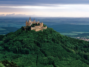 Hohenzollern Castle Based On