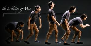 Evolving Man Cameo