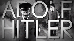 Adolf Hitler Title Card 2
