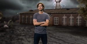 Dante Cimadamore in Wardenclyffe Tower