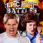 Gordon Ramsay vs Julia Child