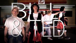 Bill & Ted Title Card