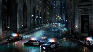 Gotham City Street Based On