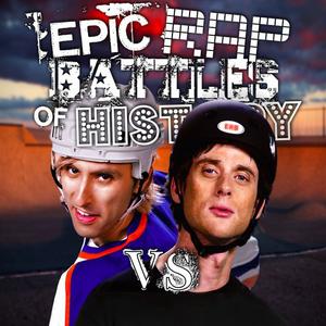 Tony Hawk vs Wayne Gretzky Alternate Cover