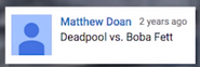 Deadpool vs Boba Fett Suggestion
