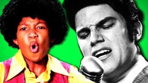 Epic Rap Battles Of History - Behind the Scenes Michael Jackson vs Elvis Presley