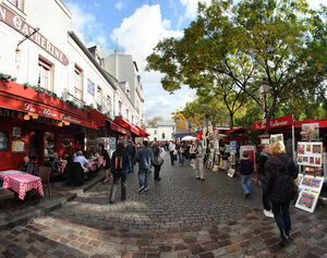 Parisian Street Based On