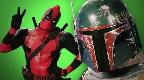Deadpool vs Boba Fett