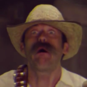 Mustached Cowboy Cameo