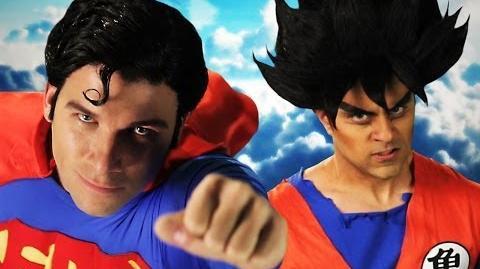 Goku vs Superman. Epic Rap Battles of History Season 3