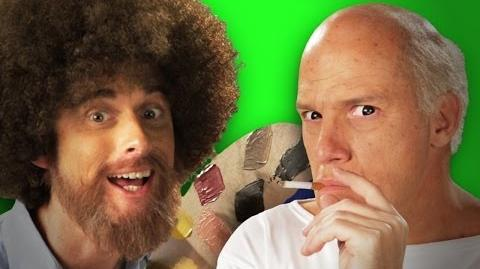 Epic Rap Battles of History - Behind the Scenes - Bob Ross vs Pablo Picasso
