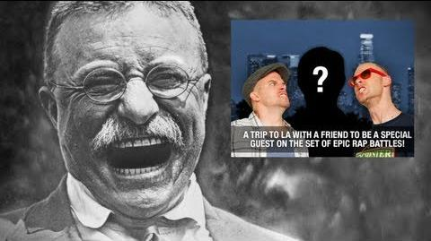 Epic Rap Battles of History News with Teddy Roosevelt - 2