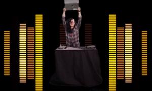 Skrillex's stage