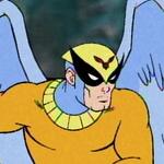 Birdman in battle