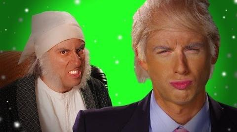 Epic Rap Battles of History - Behind the Scenes - Donald Trump vs Ebeneezer Scrooge