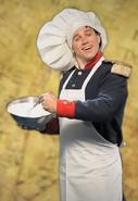 Napoleon Bonaparte In Chef Costume