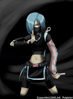 Older ninja girl Nyoko by Tairud