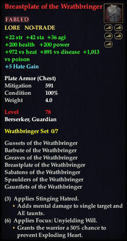 Breastplate of the Wrathbringer