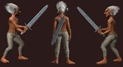 Gladiator's Short Sword (Equipped)