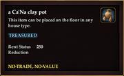 A Ca'Na clay pot