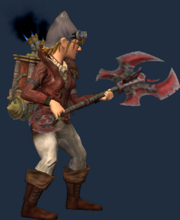Charred Greataxe of Elemental Essence (Equipped)