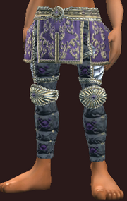 Striking woven pants (Equipped)