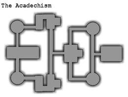 Acadechism map