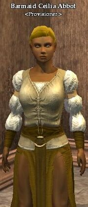 Barmaid Ceilia Abbot