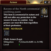 Ravens of the North ceremonial smithing pants