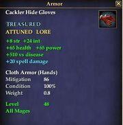 Cackler Hide Gloves