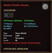 Shield of Death's Respite